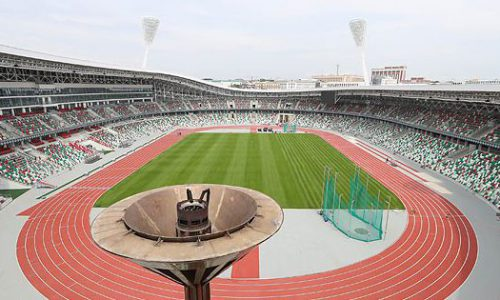 Minsk Stadium – MinskBelarus Vernieuwd