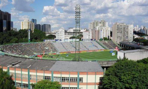 Sao Paulo-Brazilië Oude Stadion